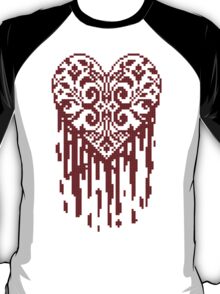 Bleeding Tiled Heart T-Shirt