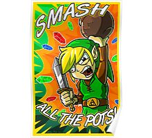 Smash All the Pots! Poster