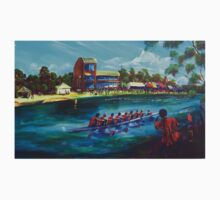 Head of the River Nagambie VIC - artist Bob Gammage by tola