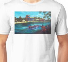 Head of the River Nagambie VIC - artist Bob Gammage Unisex T-Shirt