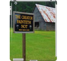 The Creator iPad Case/Skin