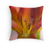 Freesia flower. Throw Pillow