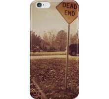 It's Where We All End Up iPhone Case/Skin