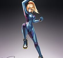 Zero Suit Samus (Smash 4) by hybridmink