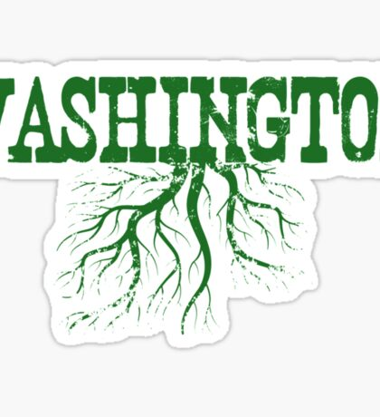 Washington Roots Sticker