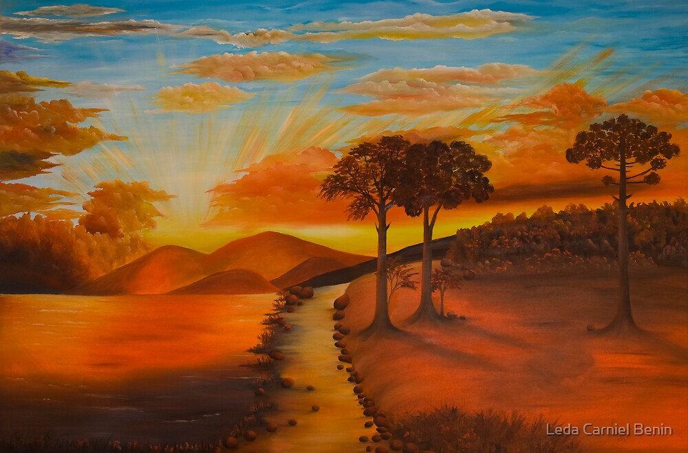 Por do Sol by Leda Carniel Benin
