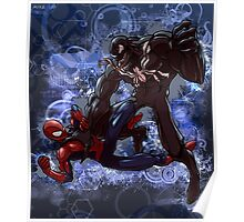 Spidey Vs. Venom Poster