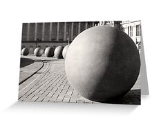 Balls of Birmingham Greeting Card