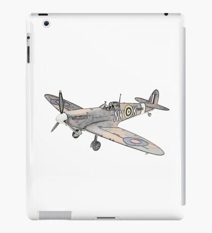 Submarine Spitfire Aircraft iPad Case/Skin