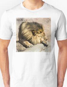 Lazy Lion  Unisex T-Shirt