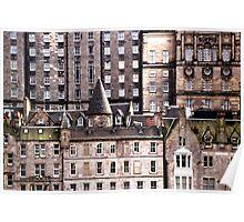 Old Town, Edinburgh, Scotland Poster