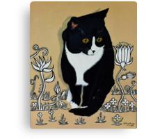 Tuxedo Cat... Canvas Print