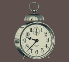 antique typographic vintage alarm clock Baby Tee