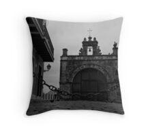 San Juan Old Town Throw Pillow