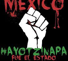 Ayotzinapa #43 Fue el Estado by TheBeksor