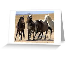 One Wild Moment Greeting Card