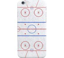 Ice Hockey Rink iPhone Case/Skin