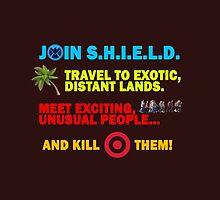 Join SHIELD by olgapanteleyeva