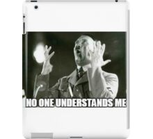 No One Understands Hitler iPad Case/Skin