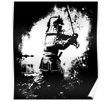 Samurai  (white) Poster