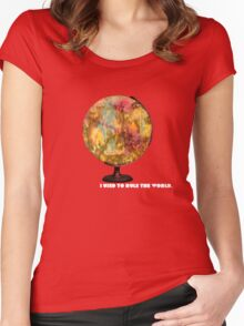 I Used To Rule The World Women's Fitted Scoop T-Shirt