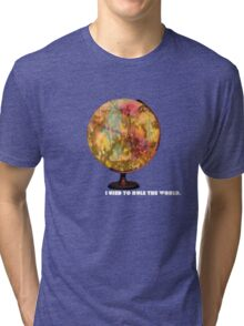 I Used To Rule The World Tri-blend T-Shirt