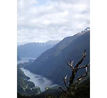 Fjord Valley Photographic Print