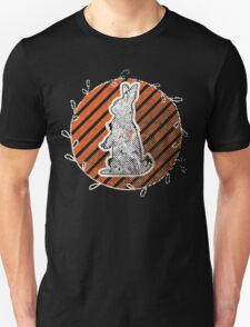 White Rabbit Enjoying the Sunset T-Shirt