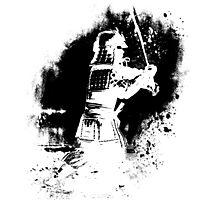 Samurai  (black) Photographic Print
