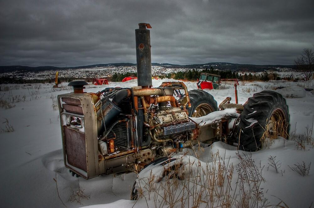 Winter's Grip... by Kevin  Kroeker