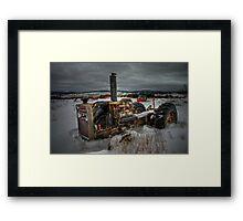 Winter's Grip... Framed Print