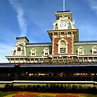 Walt Disney World Railroad by Tim Ray