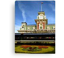 Walt Disney World Railroad Canvas Print