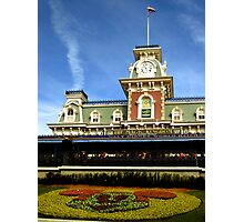 Walt Disney World Railroad Photographic Print