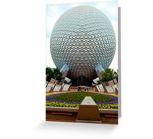 Epcot 2 Greeting Card