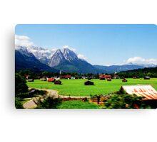 Bavaria Snapshot  Canvas Print