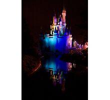 Magic Kingdom Reflections Photographic Print