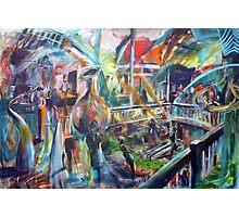 Lucas Sulton - GLASSBLOWER -artist Bob Gammage Photographic Print