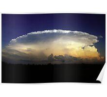 Darwin Thunderstorm Poster