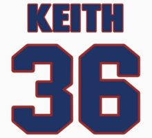 National football player Kenton Keith jersey 36 by imsport