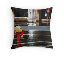 High Tide in San Marco Throw Pillow
