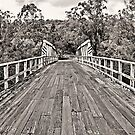 Wooden bridge  by EbonyKate
