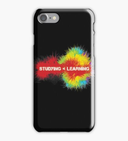 Studying < Learning iPhone Case/Skin