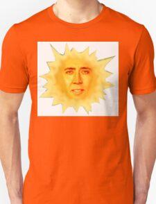 Nicolas Cage Teletubbies Sun T-Shirt