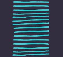Simple Stripes - Aqua Tank Top