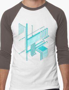 Isometric Men's Baseball ¾ T-Shirt