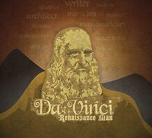Leonardo DaVinci Renaissance Man by TICS