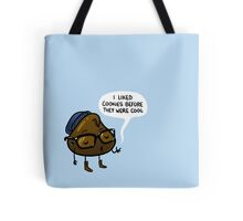 Chocolate Chipster Tote Bag