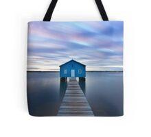 Sunrise at Matilda Bay Boatshed in Perth, Western Australia Tote Bag