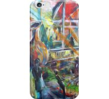 Lucas Sulton - GLASSBLOWER -artist Bob Gammage iPhone Case/Skin